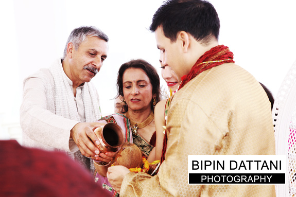 Destination hindu wedding ceremony