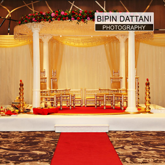 wedding mandap hir in london
