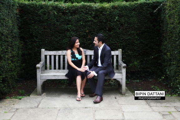 relaxed pre wedding portraits