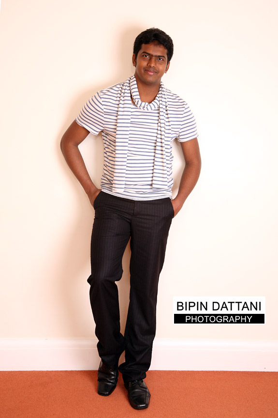 Shoot at photography studio in London