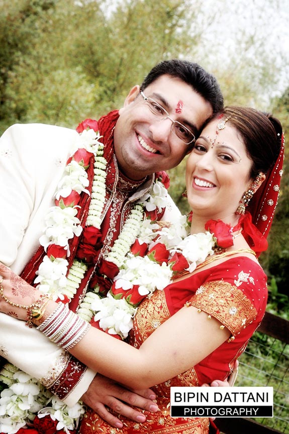 asian wedding photos on wedding day