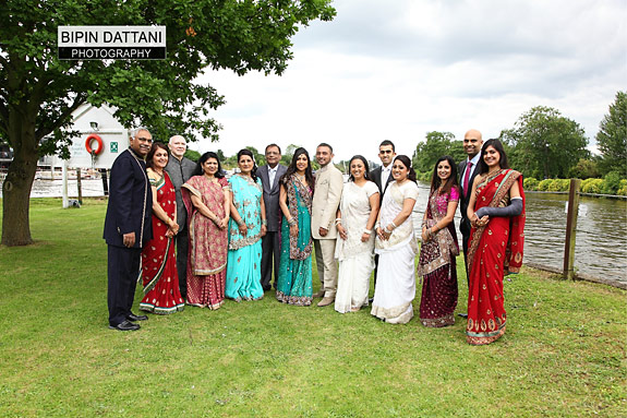 Family Group Photography at Kingston's Raven Ait Wedding Venue