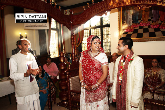 Hare Krishna Temple Wedding Photos