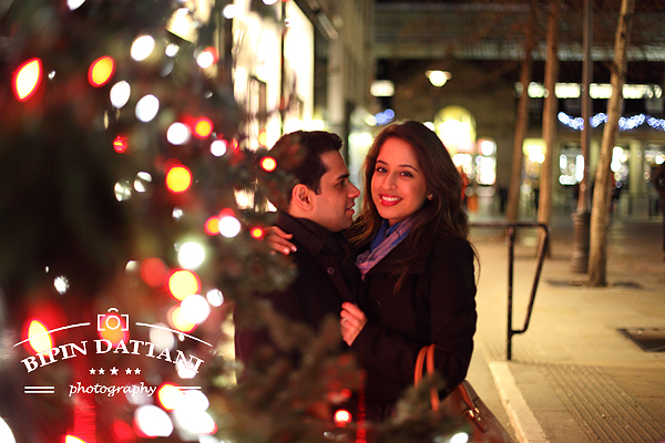 pre wedding photography london at Night near Covent Garden