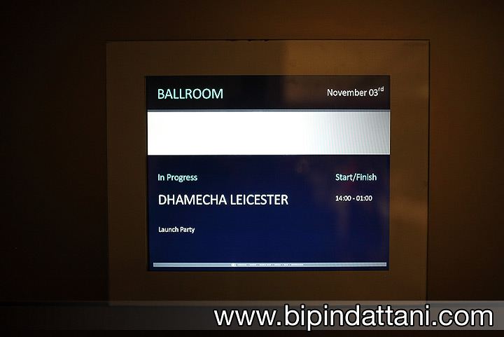 Dhamecha party event at Hilton Wembley London by Bipin Dattani Corporate Photographer