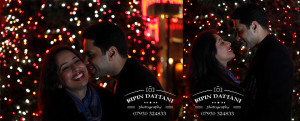 Pre Wedding Shoots in London at night, eyes for just each other