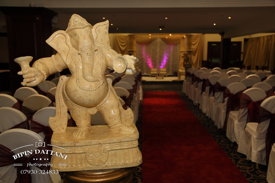 clay oven wembley  wedding mandap setup, local north london photographyer image