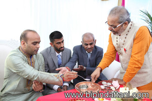 Engagement traditions ceremony by asian priest services in harrow, Mumbai Junction Restaurant
