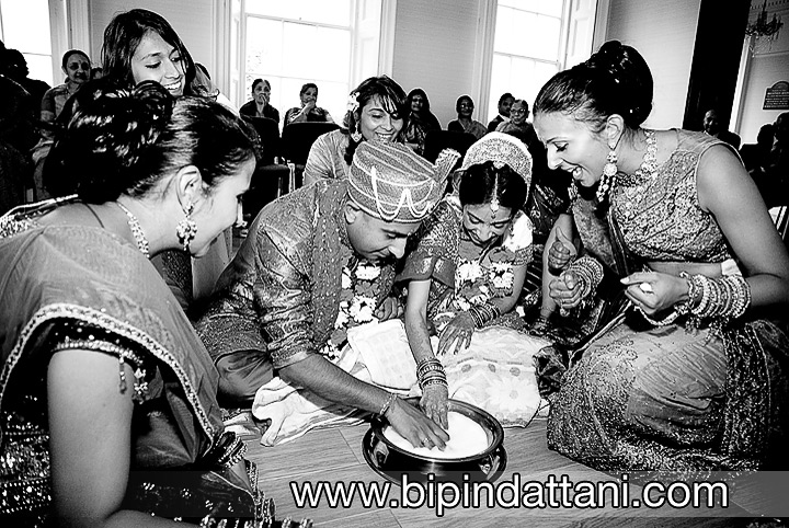 monochrome memories from indian wedding games ritual