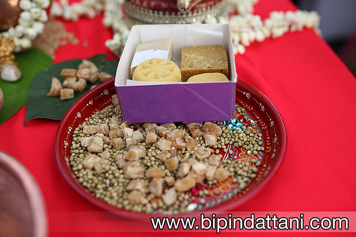 Indian sweets or Mithai used at asian weddings