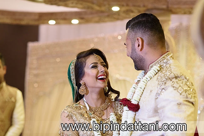 luxury professional asian wedding photography services in london for Rakhee & Mihir indian marriage ceremony
