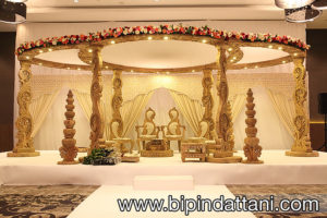 Gayatri Mandaps setup at Wembley London Hilton recent wedding