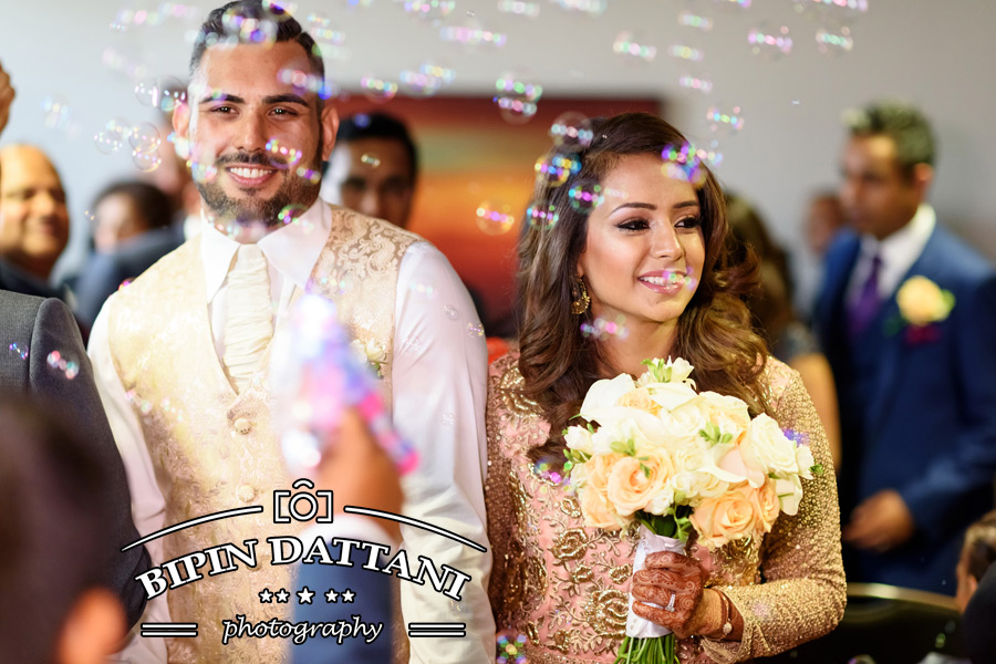 registry wedding before hindu indian wedding in london