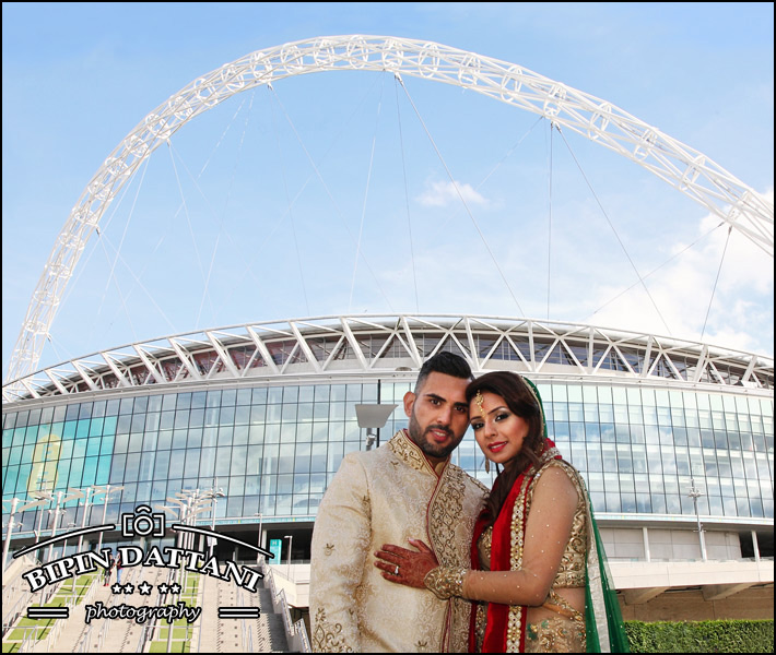 best of the best indian wedding photography London Wembley Stadium