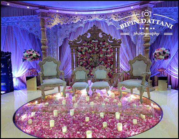 wed in style Mandaps at Olympia London at Asian Bride Live wedding show