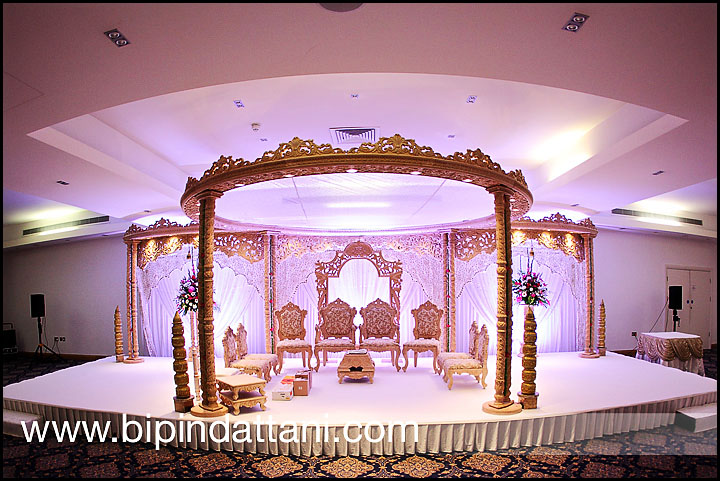 Wed in style mandap at a recent indian wedding in london
