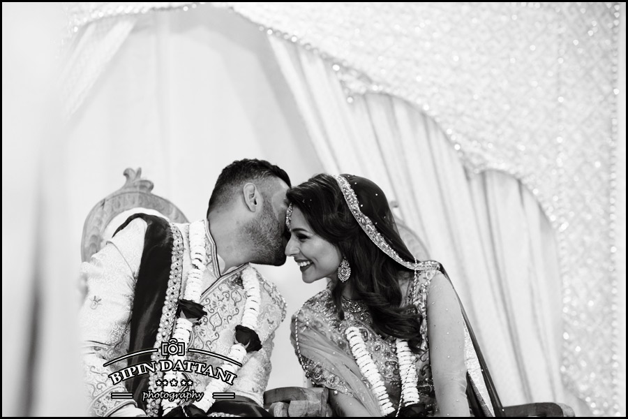 black & white pictures work for Indian weddings too