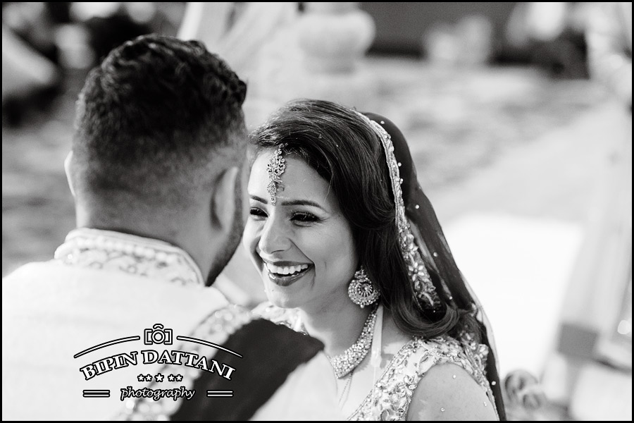Bipin Dattani's best black and white wedding photography from a recent wedding