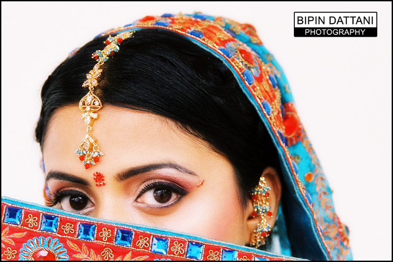 pre marriage north indian wedding brides portrait
