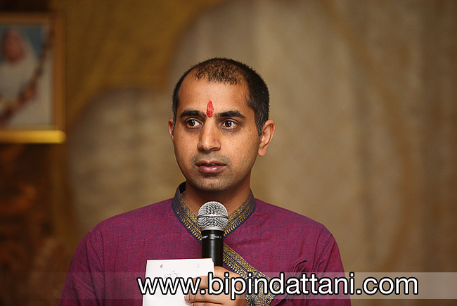 Arjun Pandey a hare krishna wedding priest at Watford temple