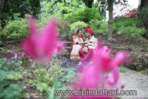 Hindu wedding photography at Bhaktivedanta Manor hare krishna temple watford near London