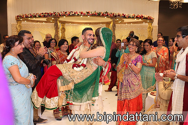 Rakhee & Mihi's best Indian wedding photography Hilton Wembley London