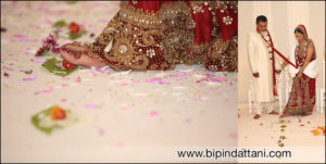 indian wedding photographers Bipin Dattani & team at royal garden hotel kensington london