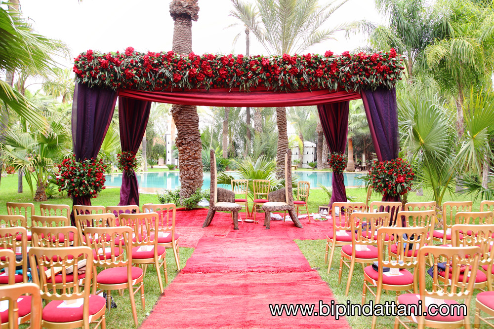 real-fresh-flower-mandap-setup-in-Marrakech-Morocco