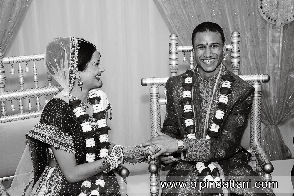 Avni & Ankeet's civil wedding at oshwal centre potters bar hertforshire