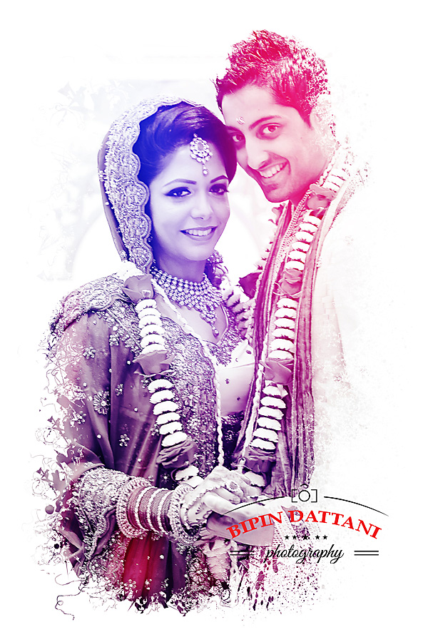 Sonal & Aniish's wedding day portraits by indian wedding photographers Stanmore HA7