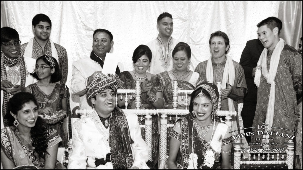 natural moment capture by Bipin Dattani indian wedding photographer in London