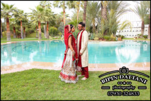 Couple portrait at one of the Best destination Indian Weddings In Marrakech Morocco