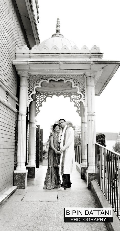 Shree Swaminarayan Temple Willesden the London suburb of Willesden wedding venue for local couple