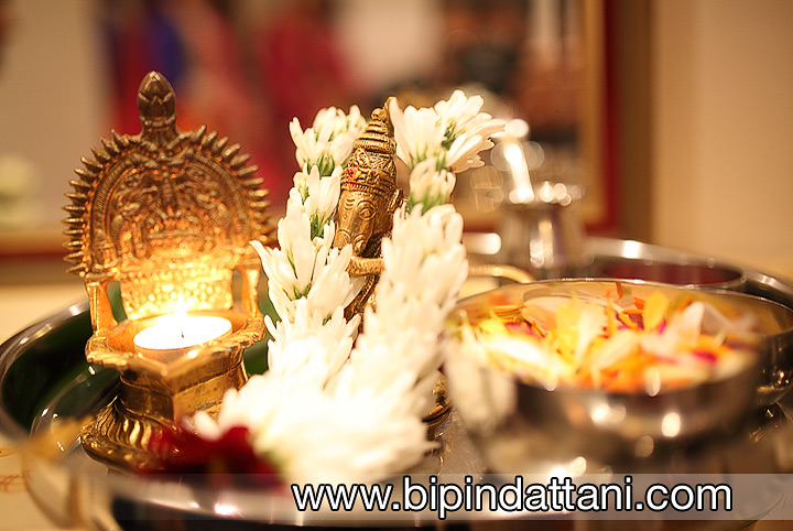 ganesh puja ceremony at wedding