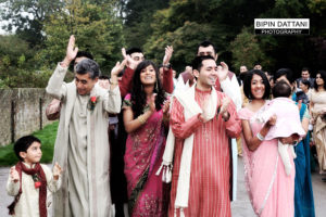 grooms arrival for indian wedding at whipsnade zoo bedfordshire
