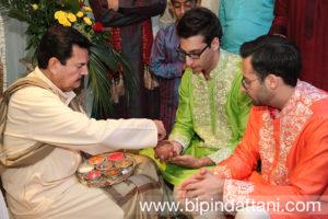 rajubhai mehta indian wedding priest a pre wedding ceremony