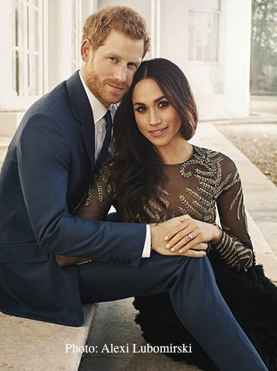 prince harry meghan markle pre weddingengagement portraits