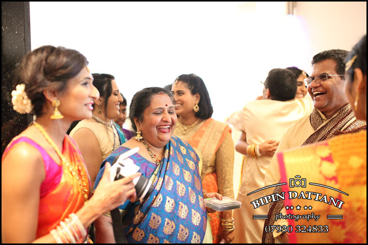 happy guests at tamil wedding london