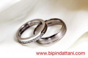 wedding rings of couple by indian wedding photographer middlesex london UK