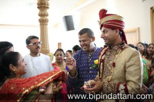 gujarati wedding candid photography of groom's entrance