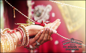 indian wedding photography by worlds best indian wedding photographers during ceremony of Hasta Melap (Giving Away of the Bride)