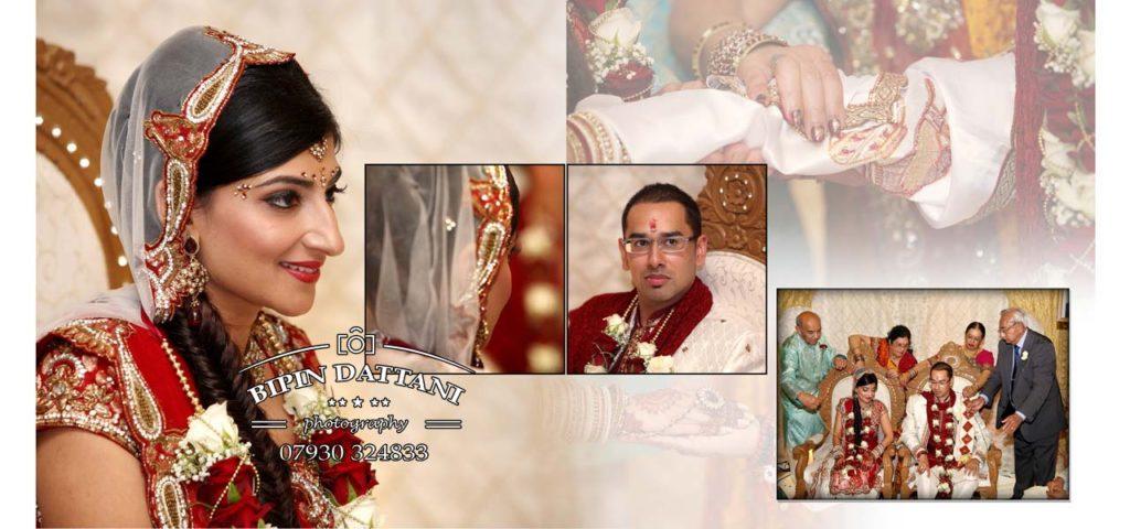 best indian wedding photo album magazine style design