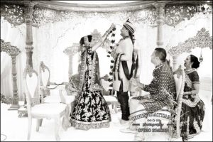 finest indian wedding photographers at InterContinental London Park Lane wedding venue