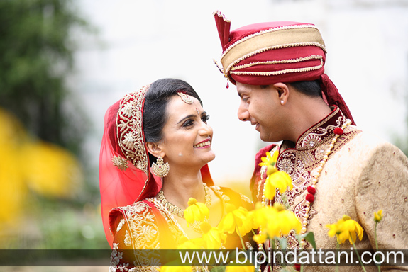 after marriage ceremony gujarati wedding couple photos of Nisha & Vinesh