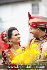 after marriage ceremony gujarati wedding couple photos of Nisha & Vinesh