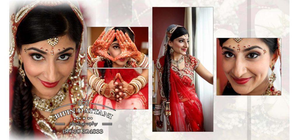 popular indian wedding album design magazine style