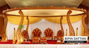 oshwal centre wedding mandap set up