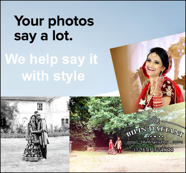 Bipin Dattani best Asian wedding photographers in London portrait gallery