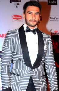 Ranveer Singh looking dapper in this portrair