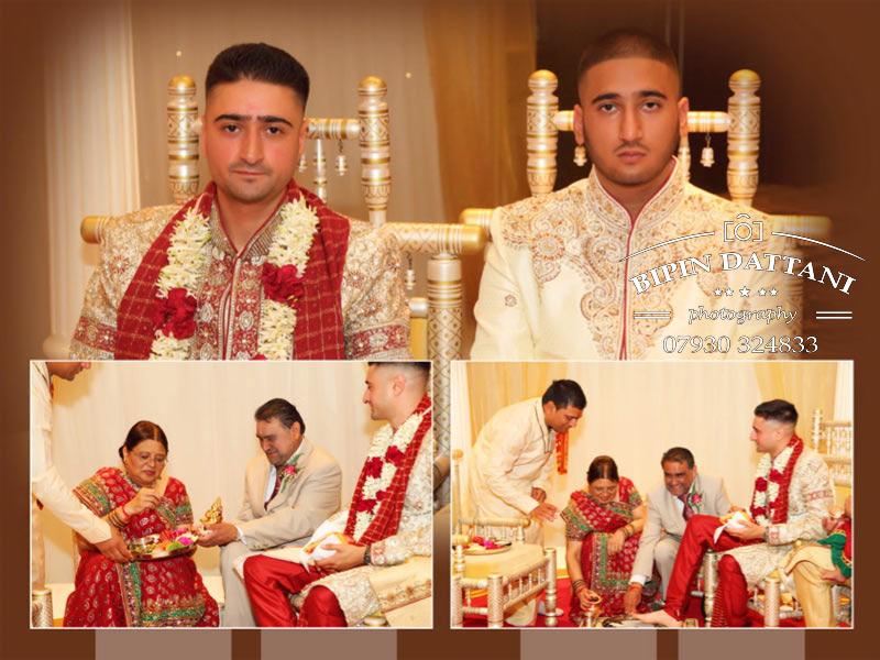 wedding album designed for Rupa & Manish indian wedding